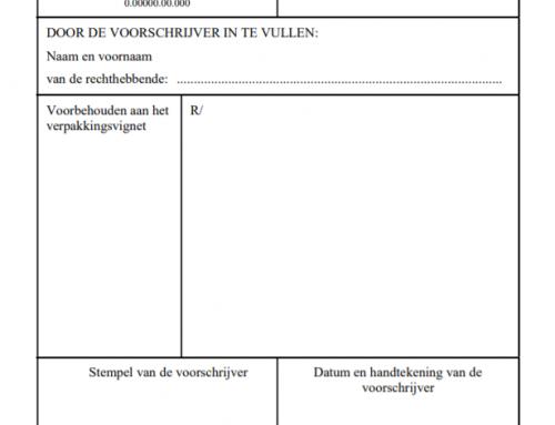 Oude voorschriften geldig tot 31 januari 2020